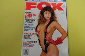 Fox Men s Magazine Ashlyn Gere March 1991 fox Amazon Books