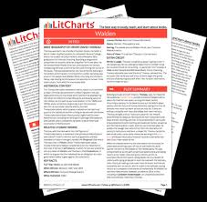 """walden solitude summary analysis from the creators  the printed pdf version of the litchart on walden """""""