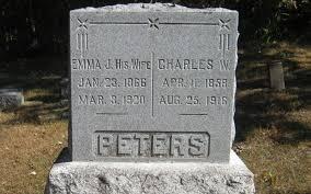 Charles Wesley Peters (1858-1916) - Find A Grave Memorial