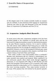 scientific basis of acupuncture springer inside