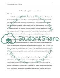 final environmental ethics research paper example topics and  final environmental ethics essay example