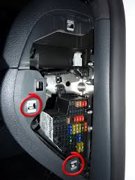addition of extra circuits to the volkswagen golf jetta passat next remove the two clips as indicated these can be pushed out from behind your finger volkswagen fuse box before main