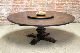 80 large round table with pedestal and lazy susan round dining room table with lazy susan