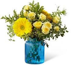 the ftd something blue bouquet by better homes and gardens from fl expressions in oswego