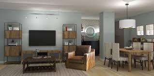 Modern Apartment Living Room Rustic - staradeal.com
