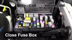 interior fuse box location 2011 2016 ram 1500 2012 ram 1500 slt secure the cover and test component