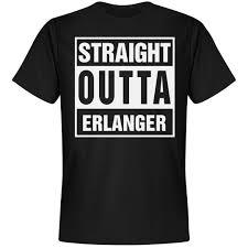 Straight Outta Erlanger Unisex Next Level Premium T Shirt