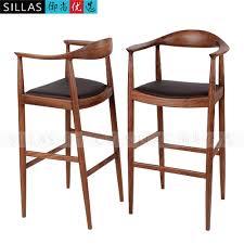 kennedy walnut wood furniture lounge chair bar stool bar