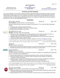 Account Manager Resume Job Description Account Manager Resume Gary R ...