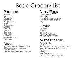 basic grocery shopping list basic grocery shopping list foods to try pinterest frases and