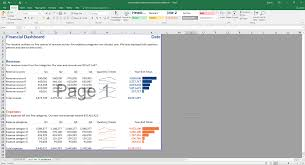 Revenue Chart Template Pie Chart Makeover Revenue And Expenses Depict Data Studio