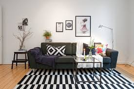 cute apartment bedroom decorating ideas. Cute Apartment With Simple Black And White Decor Bedroom Decorating Ideas