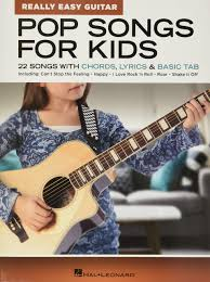 Guitar tab and advice is given for each song. Amazon Com Pop Songs For Kids Really Easy Guitar Series 22 Songs With Chords Lyrics Basic Tab 0888680898199 Hal Leonard Corp Books