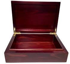Decorative Wood Boxes With Lids Tree of Life Brown Wood Box Engraved Design with Locking Gold 60