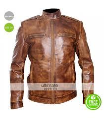 men designer rider bronze leather jacket 165 00