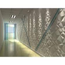 white decorative pvc 3d wall panels