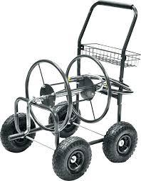 garden hose reel cart retractable garden hose reel steel hose reel cart garden state members garden garden hose reel