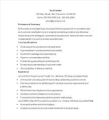 Retail Resume Examples Best High End Retail Resume Sample Template Free Samples Examples Format