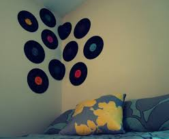 inspiring vinyl records decorations for wall as well as vinyl record wall decor la and friends