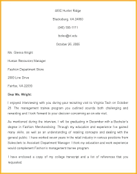 Folow Up Letter Resume Follow Up Letter Template After Sending