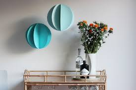 How To Make Hanging Paper Ball Decorations Magnificent Giant Paper Party Balls Julep