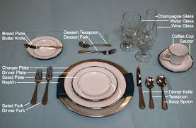formal setting of a table. lovable formal breakfast table setting and settings of a l