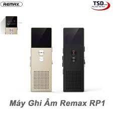 Mã 267ELSALE hoàn 7% đơn 300K] Máy Ghi Âm Remax RP1 Voice Recorder Chính  Hãng