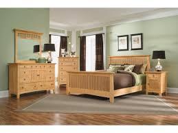 Wood Queen Bedroom Sets Arts & Crafts 5 Pc Bedroom Package American ...