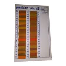 Mustard Chart Cotton Fabric
