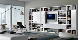 built in living room furniture. misuraemme futuristic furnitures for modern living room designs white sliding door tv cabinets with bookshelves contemporary spac built in furniture