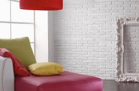 Nordic Apartment With White Brick Wall Interior Living Room White Brick Wall Living Room