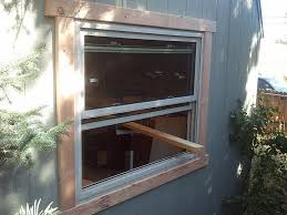 picture of add window to shed