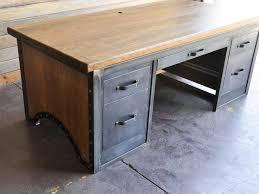 industrial office desk. Chairmen Desk By Vintage Industrial Furniture Office D