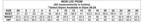 Original And Authentic Designer Prom Pageant Dress Mori Lee
