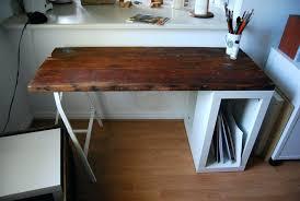 reclaimed wood desk 60 mesmerizing reclaimed wood desk ikea hack desktop riser