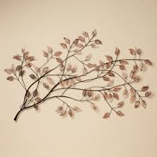 Small Picture Awesome Natural Plant Design For Metal Wall Art And Decor Leaves