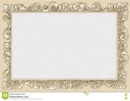 Vintage frame border Blue Conice For Painting Or Postcard Linework Black Conice For Painting Or Postcard Vintage Frame Border Retro Engraving Baroque Carrier Dreamstimecom Cream Conice For Painting Or Postcard Vintage Frame Border Retro