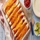 beans   barley restaurant s three cheese enchilada casserole