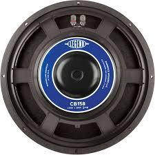Bass Cb158 Restocked Guitar Speaker 15