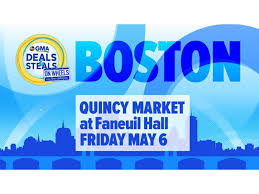 good morning america s deals and steals on wheels live from faneuil hall marketplace