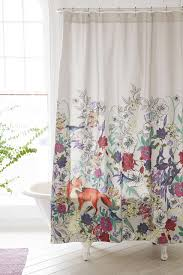 beautiful shower curtains. Forest Critters Shower Curtain | Pretty Curtains And More Home Decor Ideas From @cydconverse Beautiful S