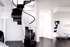 ... Helical staircase / wooden steps / with risers / contemporary E20-T-GLE  d ...
