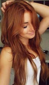 copper hair i d love to go this color