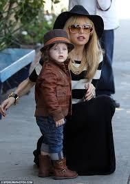 mini fashionista rachel zoe s 21 month old son skyler looked utterly adorable in