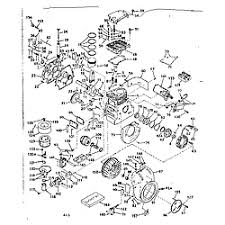 craftsman craftsman 4 cycle engine parts model 143619012 sears basic engine