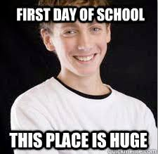 Best Of The 'High School Freshman' Meme! | SMOSH via Relatably.com
