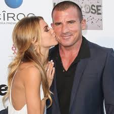 AnnaLynne McCord with boyfriend Dominic Purcell