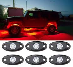 Bright Rock Lights Bright Rock Light Kits With 6 Pods Lights Under Vehicle Cars