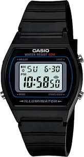 <b>Мужские</b> наручные <b>часы Casio W</b>-<b>202</b>-<b>1A</b> кварцевые
