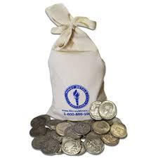 90 Silver Half Dollars Pre 1965 Junk Silver Coins